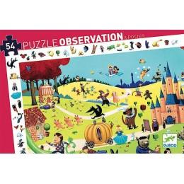 DJECO 07561 Puzzle Obserwacja - Bajki