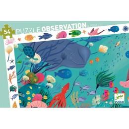 DJECO 07562 Puzzle Obserwacja - Podwodny świat