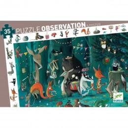 DJECO - Puzzle obserwacyjne - Orkiestra leśna 07588