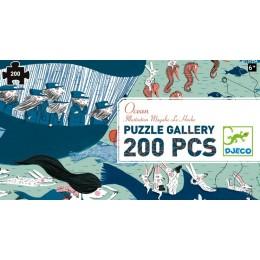 DJECO 07603 Puzzle Gallery - Ocean