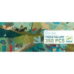 DJECO 07614 Puzzle Gallery - Poetycki statek