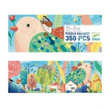 DJECO - Puzzle Gallery 350 el. - Miss Birdy 07616