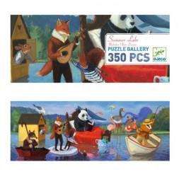 DJECO - Puzzle Gallery 350 el. - Letnie jezioro 07617