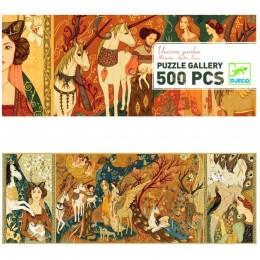 DJECO 07624 Puzzle Gallery - Dama z jednorożcem