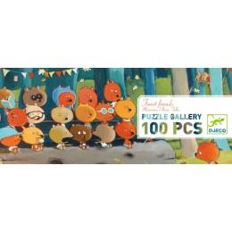 DJECO Puzzle Leśni Przyjaciele 07636