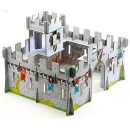 DJECO 07703 Układanka przestrzenna 3D Zamek warowny