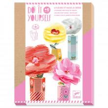 DJECO - Zrób to sam - Kwiaty w wazonach 07951