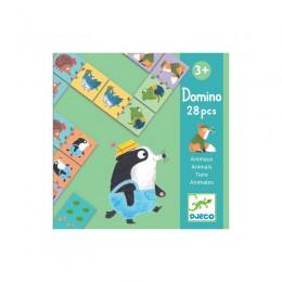 DJECO - Gra Domino - Zwierzątka 08115