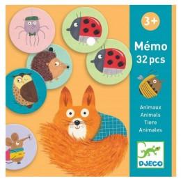 DJECO – Gra pamięciowa – Memo Zwierzątka 08116