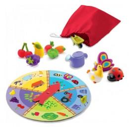 DJECO 08135 Gra edukacyjna Lotto Farma