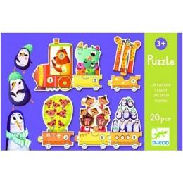 DJECO 08150 Puzzle - Pociąg