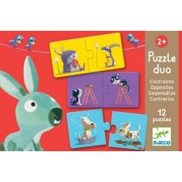 DJECO Puzzle Duo - Przeciwieństwa 08162