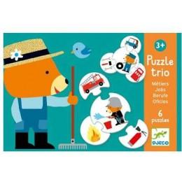 DJECO 08174 Puzzle trio - Zawody