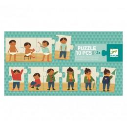 DJECO - Puzzle 10 el. - Ubieram się 08178