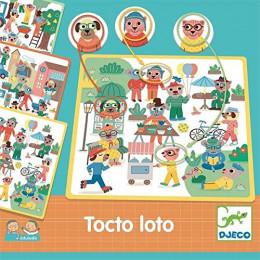 DJECO 08311 Gra planszowa - Tocto Loto