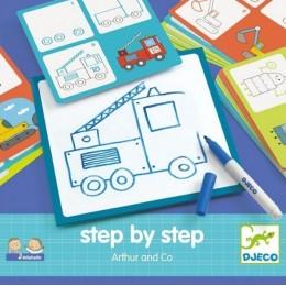 DJECO 08321 EDULUDO Rysowanie krok po kroku - Artur