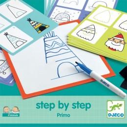 DJECO 08323 rysowanie krok po kroku - Primo