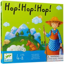 DJECO - Gra planszowa kooperacyjna - Hop! Hop! Hop! 08408