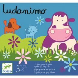 DJECO 08420 Zestaw trzech gier LUDONIMO