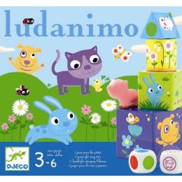 DJECO Zestaw trzech gier LUDANIMO 08420