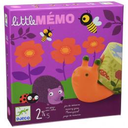 DJECO 08552 Gra planszowa - Little Memo