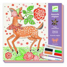 DJECO - Zestaw artystyczny z akwarelami - Dandy z lasu 08602