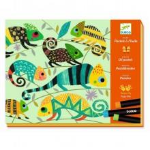 DJECO - Zestaw artystyczny - Kolorowa dżungla 08618