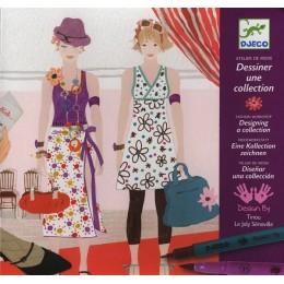 DJECO 08731 Zestaw artystyczny - Kreator mody