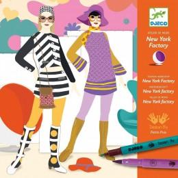 DJECO 08735 Zestaw artystyczny - Pokaz mody