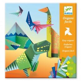DJECO - Zestaw do origami - Dinozaury 08758
