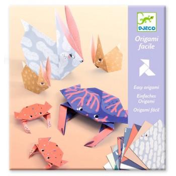 DJECO - Zestaw do origami - Zwierzęta 08759
