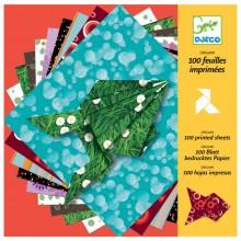 DJECO 08763 Origami Kolorowy papier