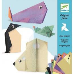 DJECO 08777 Origami - Zwierzęta polarne