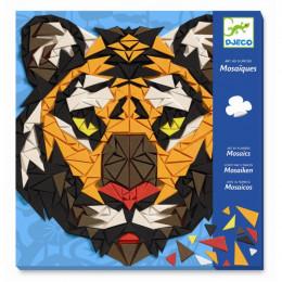 Djeco - Piankowe mozaiki - Tygrys i goryl 08887