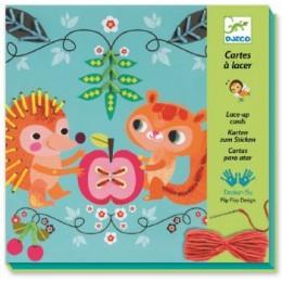 DJECO 08942 Kolorowe Włóczki - Przyjaciele