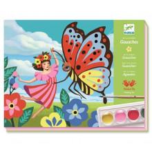 DJECO - Zestaw artystyczny z farbami - Minuscule 08962