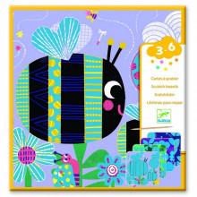 DJECO - Wydrapywanka dla maluchów – Owady – 09092