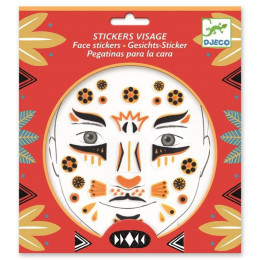 DJECO - Naklejki na twarz - LAMPART 09215