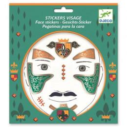 DJECO - Naklejki na twarz - RYCERZ 09216