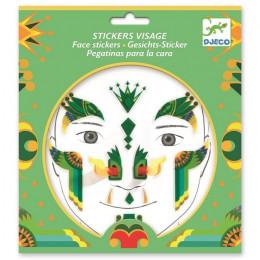 DJECO - Naklejki na twarz - SMOK 09217
