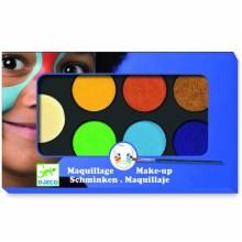 DJECO 09230 Farby do malowania twarzy - wersja NATURE