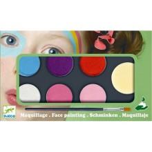 DJECO Farby do malowania twarzy - wersja SWEET 09231