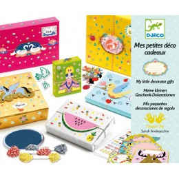 DJECO 09402 Zestaw dekoracyjny - Pakowanie prezentów