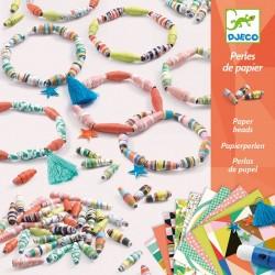 DJECO 09404 Zestaw do tworzenia biżuterii - papierowe bransoletki