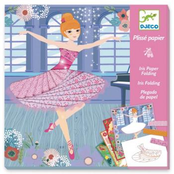 DJECO - Zestaw kreatywny - Plisy tancerki 09444
