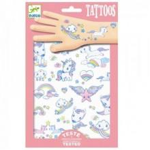 DJECO 09575 Tatuaże - Jednorożce