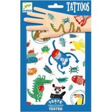 DJECO 09576 Tatuaże - Zwierzaczki