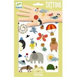 DJECO 09579 Tatuaże - Malutkie rzeczy