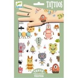 DJECO 09581 Tatuaże - Potworki