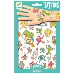 DJECO Tatuaże - Metaliczne Chimery 09583